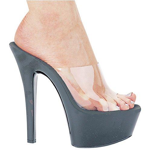 Sandal Women's 601 Vanity Clear Platform amp; Shoes Ellie Black qXOvWwnBF5