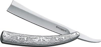 Magnum Men's Fleet Street Razor Pocket Knife, Silver