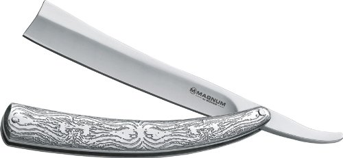 Boker Magnum 01LG242 Men's Fleet Street Razor Pocket Knife with 4 7/8...