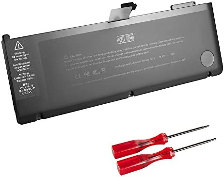 GWY-TECH New Laptop Battery for Apple MacBook Pro 15 inch A1321 A1286 [Only for Mid 2009 2010 Version] 661-5211 661-5476 020-6766-B 020-6380-A MB986 MB986J/A MB985 MC118[10.95V 73Wh]
