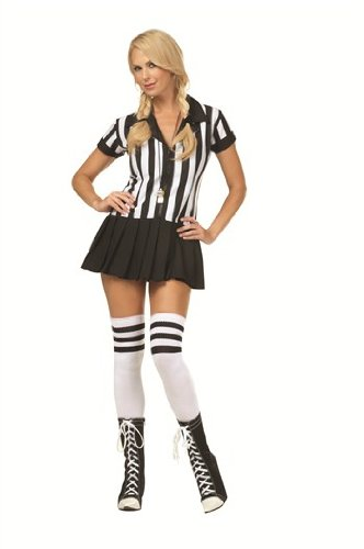 [Rowdy Referee Plus Size Costume] (Referee Costume Plus Size)