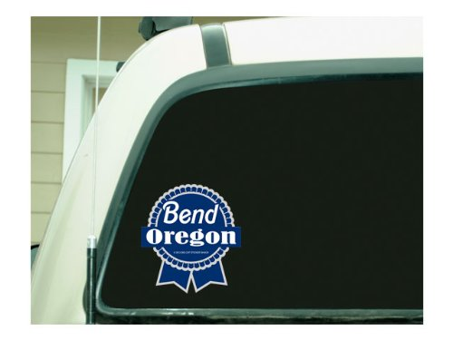 Amazon com bend oregon pbr ribbon bumper sticker automotive