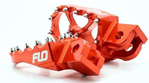 Flo Motorsports Orange KTM Foot Pegs for 50-525 SX/SXF FPEG-795ORG by Flo Motorsports (Image #2)
