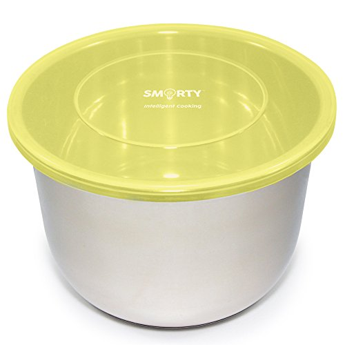 Silicone Lid Cover Seal for Inner Pot 6 Quart - Fits Instant Pot DUO60 LUX60 Ultra (6 QT, Yellow)