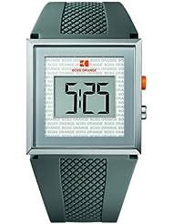 Hugo Boss Orange Digital Dial Grey Rubber Mens Watch 1512699