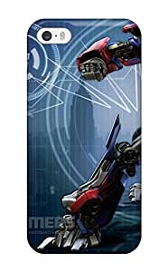 For Iphone 5/5s Premium Tpu Case Cover Optimus Prime Protective Case 3359353K54020593