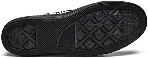 TIZORAX Gatti e Cani Alta Top Sneakers per Donne Teen Gilrs Fashion Lace Up Scarpe di Tela Casual Scuola Walking Scarpa