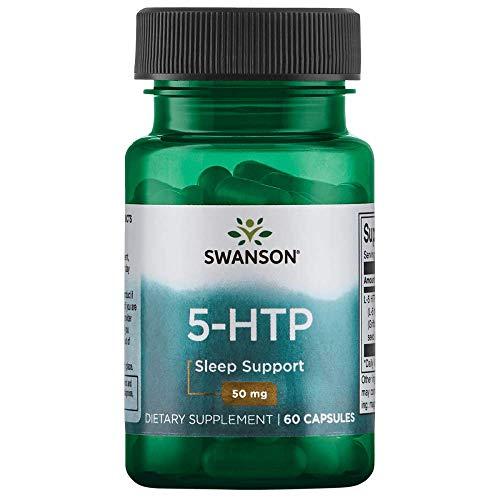 Swanson Amino Acid 5-Htp 50 Milligrams 60 Capsules (Best 5 Htp Brand Uk)