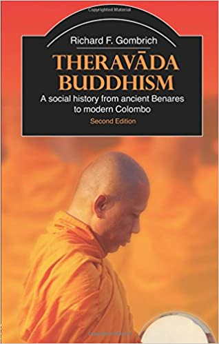 Gombrich Theravada cover art