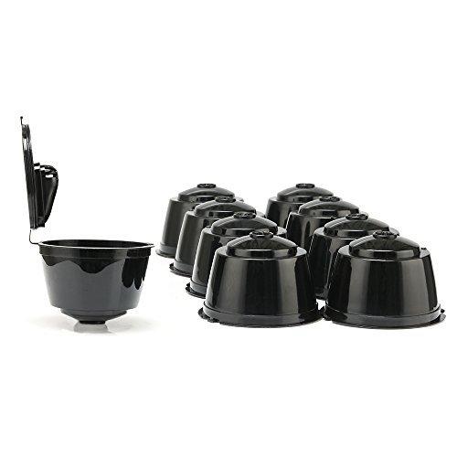 9 tazas/Pack de cápsulas de café recargables Dolce Gustó, cápsulas ...