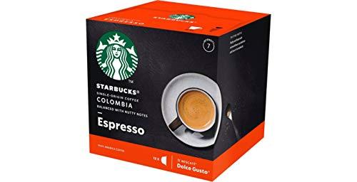 Nescafe Dolce Gusto Starbucks Colombia Espresso x 3 Boxes (36 Capsules)