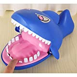1PC Cute Tricky Toy Gleamy Shark Mouth Durable Game Funny Toy for Friends Party Kids