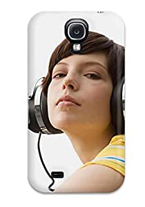New Headphones Tpu Cover Case For Galaxy S4