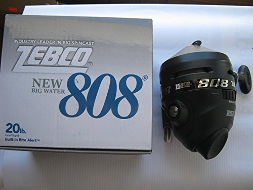 ZEBCO 808 BIG WATER SPIN CAST REEL, used for sale  Delivered anywhere in USA