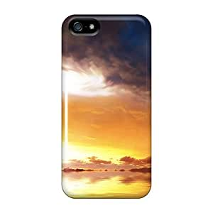 AlexandraWiebe Scratch-free Phone Cases For Iphone 5/5s- Retail Packaging - Super Tornado