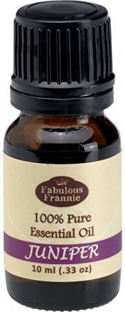Juniper 100% Pure, Undiluted Essential Oil Therapeutic Grade - 10 ml. Great for Aromatherapy!