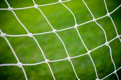 POWERSHOT® Fußballtornetz, Fußball Tornetz, 5m x 2m, 2mm