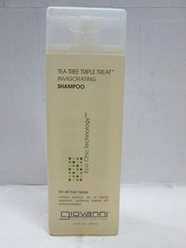 GIOVANNI HAIR CARE PRODUCTS SHAMP,TEA TREE TRIPLE TRT, 8.5 FZ