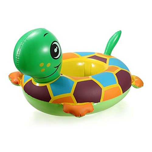 [Turtle] Baby Child Inflatable Swim Swimming Pool Raft Seat Float Ring