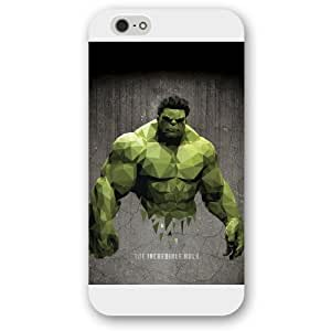 "UniqueBox Customized Marvel Series Case for iPhone 6+ Plus "", Marvel Comic Hero Hulk iPhone 4 4s"
