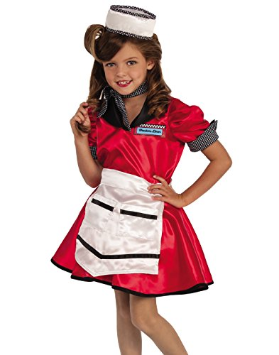 50s diner waitress fancy dress - 6