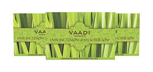 Lemongrass Soap Scrub Bar Charcoal product image