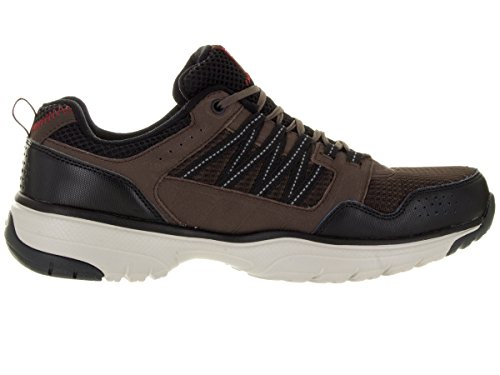 Skechers Hombres Vantage Point-tran Marrón / Negro Lifestyle Shoe 7.5 Hombres Us