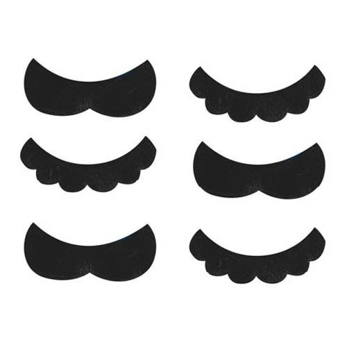 Super Mario Brothers� Mustache Favors -
