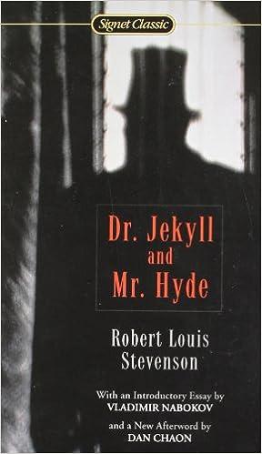 Amazoncom Dr Jekyll  Mr Hyde Signet Classics   Amazoncom Dr Jekyll  Mr Hyde Signet Classics  Robert  Louis Stevenson Vladimir Nabokov Dan Chaon Books