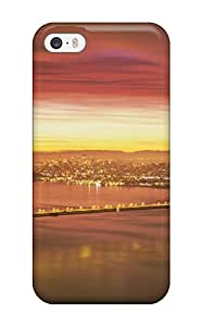 Iphone Protective Case For Iphone 5/5s Golden Gate Bridge