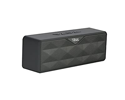 Liztek Ultra-Portable Wireless Bluetooth Speaker,Powerful Sound with build in Microphone, Works for Iphone, Ipad Mini, Ipad 4/3/2, Itouch, Blackberry, Nexus, Samsung and other Smart Phones and Mp3 Players