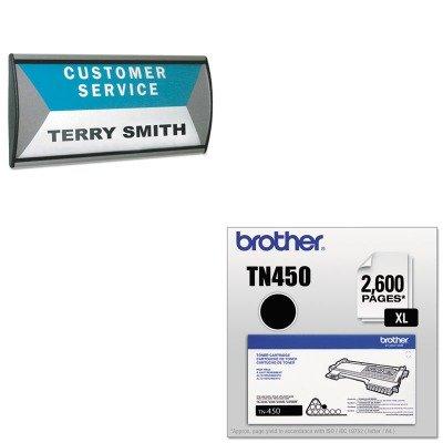 (KITAVT75390BRTTN450 - Value Kit - Advantus People Pointer Wall/Door Sign (AVT75390) and Brother TN450 TN-450 High-Yield Toner (BRTTN450))
