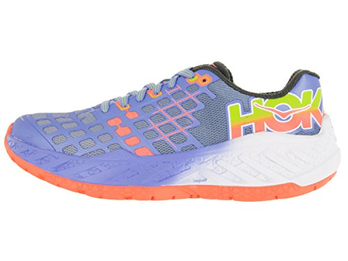 Chaussures De Course Hoka One One Clayton Pour Femme - Aw16 Outremer / Néon Corail