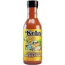 All Natural, Gluten Free, Keli's Polynesian Sweet-n-Sour Dipping Sauce 15oz