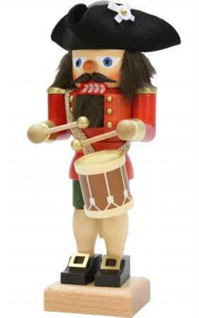 Christian Ulbricht 10 in. Drummer Nutcracker by SEIF