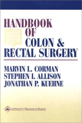 Handbook of Colon and Rectal Surgery