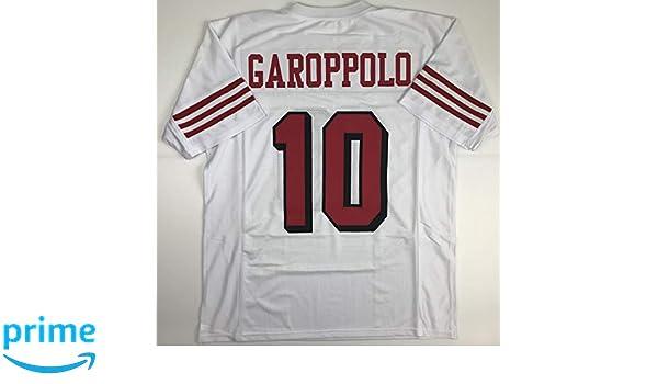 innovative design 6f83e 83ad9 Amazon.com: Unsigned Jimmy Garoppolo San Francisco Alternate ...