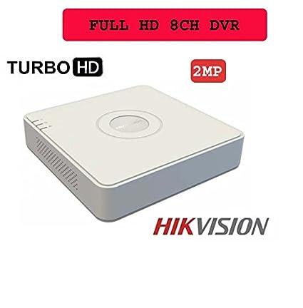 HIKVISION Full HD 8 Channel (DS-7A08HQHI-K1 Or DS-6008HQHI-FK1 2MP (1080P))  DVR for HIKVISION 2MP CCTV Camera