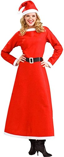 Forum Novelties Women's Simply Mrs. Santa Costume, Multi, Plus -
