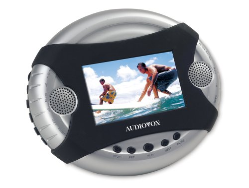 Audiovox D1420 4.2-Inch Portable DVD Player with Built In Rechargeable Battery