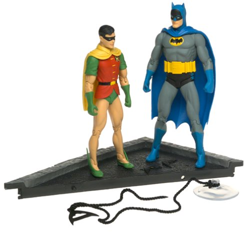 Classic Silver Age Batman & Robin Deluxe Action Figure Set ()