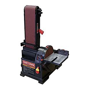 Craftsman Belt Amp Disc Sander Bench Top 4 X 36 In Belt And 6 In Disc Power Combination Disc And Belt Sanders Amazon Com