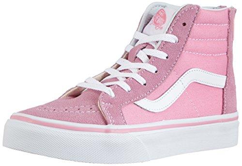Camionnettes Sk8-salut Zip Mixte-kinder Hohe Sneakers Rose (prisme Pnk / Trwht 2w0)