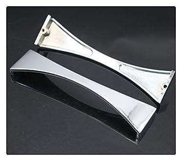 Amazonde Kfz Chrom Glänzend Finish Griffe Aluminium Legierung