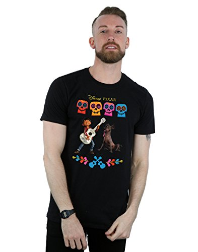 Price comparison product image Disney Men's Coco Miguel Logo T-Shirt XX-Large Black