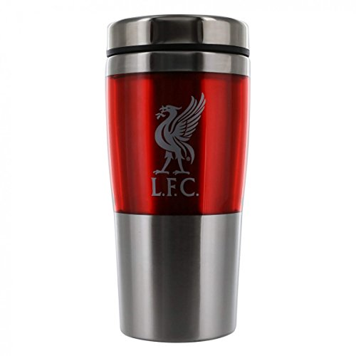 Liverpool FC - Stainless Steel Travel Mug - Authentic EPL by Liverpool F.C.