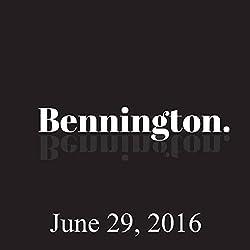 Bennington, June 29, 2016
