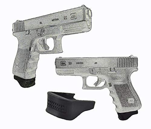 Garrison Grip Four .75 Inch Grip Extensions Fits Glock 17 18 19 22 23 24 25 31 32 34 35 37 38 (Glock 17 Gen 3 17 Round Magazine)