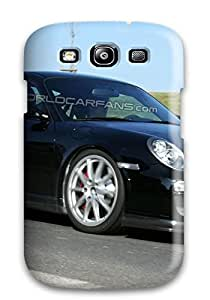 Galaxy S3 Hard Back With Bumper Silicone Gel Tpu Case Cover Porsche Gt3 Rs 23