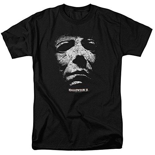 Halloween II Michael Myers Horror Adult Movie T-Shirt Tee -